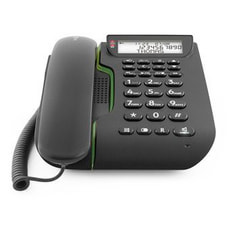 Comfort 3005 Téléphone avec fil facile à utiliser avec répondeu