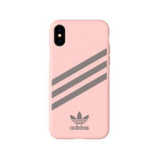 Moulded Case PU SUEDE Icey Pink/Grey Four