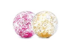Transparent Glitter Balls