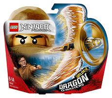 Lego Ninjago Le maître du dragon d'or 70644