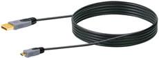 Cable USB 2.0 HQ 2m noir, USB 2.0 typeA / Micro-USB