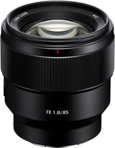 85mm, f/1.8 SEL85F18
