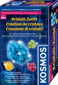 Créatde cristaux Créer soi-même des cristaux fascinants