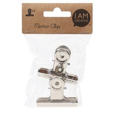 Memo-Clip, Silber