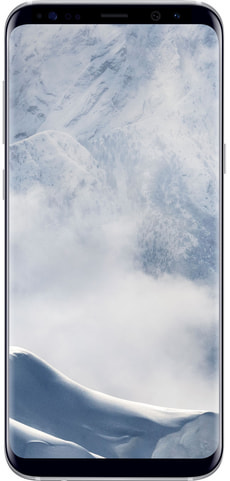 Galaxy S8+ silber