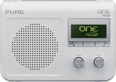 PURE One Flow FM/DAB+/Internetradio weis