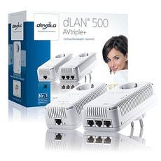 dLAN 500 AV triple+ Adaptateur Starter Kit