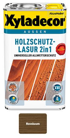 Holzschutzlasur Nussbaum 2.5 l