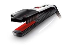 Swiss'X Super Brush & Shine Set Haarglätter schwarz