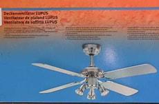 Ventilateur de plafond LUPUS