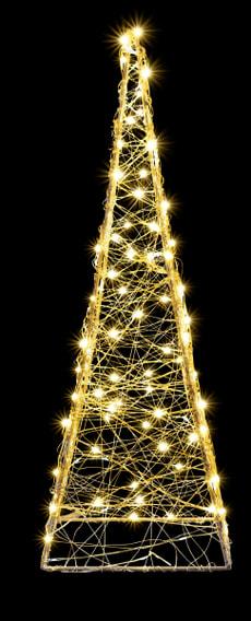 LED Leuchtpyramide 60 cm