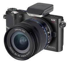 NX210 schwarz 18-55mm Systemkamera