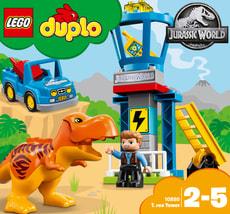 Lego Duplo T-Rex Aussichtsplattform 10880