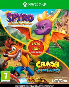 Xbox One - Spyro + Crash Remastered Spiele Bundle D