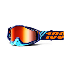 100% Racecraft Calculus Navy Goggle