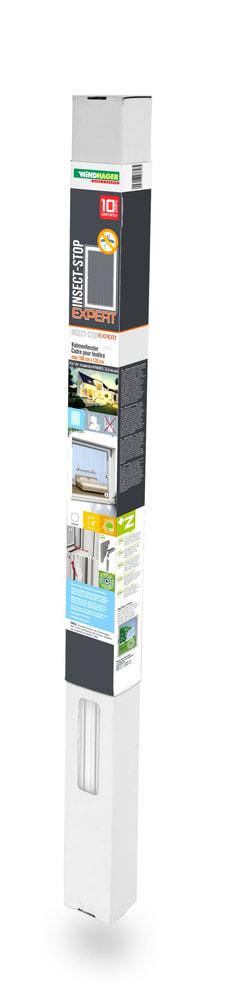 Insektenschutz Rahmen Fenster 100x120cm, weiss