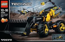 W18 LEGO TECHNIC 42081 VOLVO RADLADER ZE