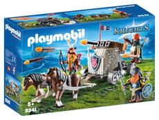 Playmobil Char de combat avec baliste et nains