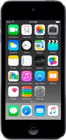 iPod touch 128GB - Spacegrau
