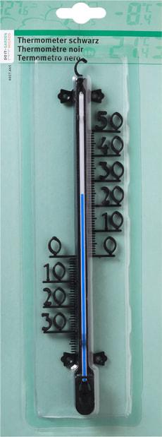 Thermometer schwarz