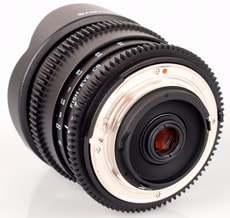 8mm / 3.5 IF MC Fisheye CS II Objektif Canon