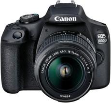 EOS 2000D EF-S 18-55mm + 75-300mm