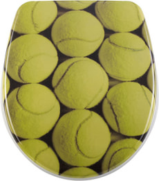 WC-Sitz Nice Slow-Motion Tennis