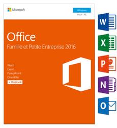 Office Famille & Petite Entreprise 2016 PC (F)