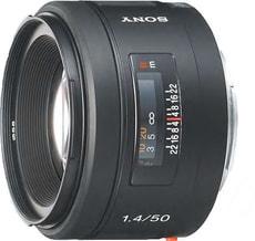 50mm f/1.4 Obiettivo
