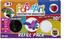 Pop-Art 6 Color Refill Pack