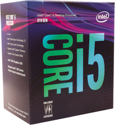 "Prozessor i5-8400 6x 2.8 GHz ""Coffee-Lake"" Sockel LGA 1151 boxed"