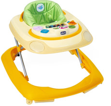 CHICCO TROTTEUR BAND JAUNE