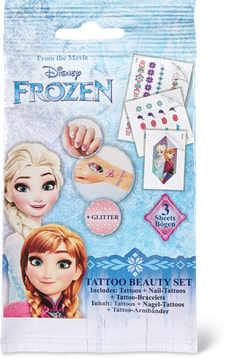 Disney Frozen Tattoo Beauty Set