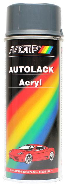 Acryl-Autolack 46810 grau-schwarz