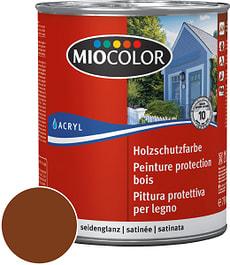 Pittura protettiva per legno Marrone noce 750 ml