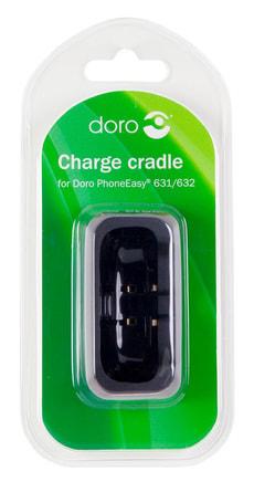 Charging cradle noir pour 631/632 blister