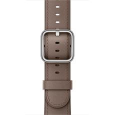 Bracelet Boucle classique taupe 42 mm