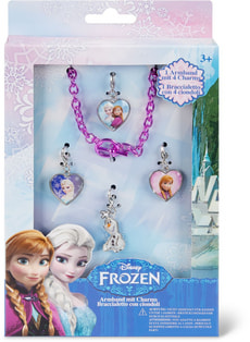 Disney Frozen Armband mit 4 Charms