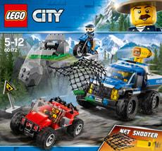 Lego City 60172 Duello Fuori Strada