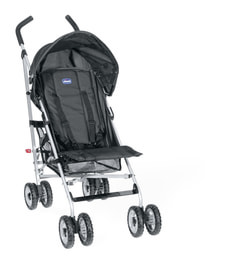 06/12 CHICCO LONDON BUGGY BLACK SPECIAL