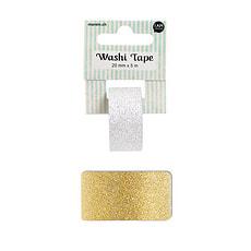Washi glitter gold 2CMX5M