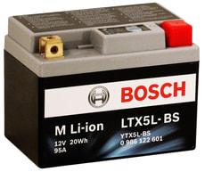 Motorradbatterie Li-ion 20 Wh LTX5L-BS