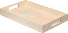 Tablett Holz klein