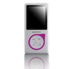 Lenco Xemio-657 MP3-Player, Pink