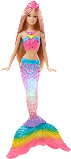 Barbie Regenbogenlicht-Meerjungfrau