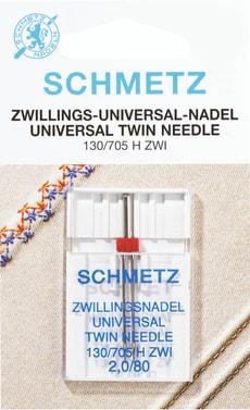 Zwillings-Universalnadeln 4,0mm SB1 Nr. 80