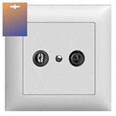 UP Antennen-Steckdose R/TV