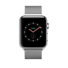 Watch Series 3 GPS/LTE 42mm stainless/milanese