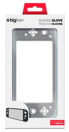 Bigben Nintendo Switch Silikon-Schutzhülle schwarz/grau