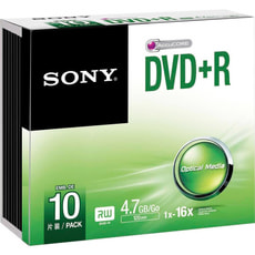 DVD+R 4.7GB, 10er Pack